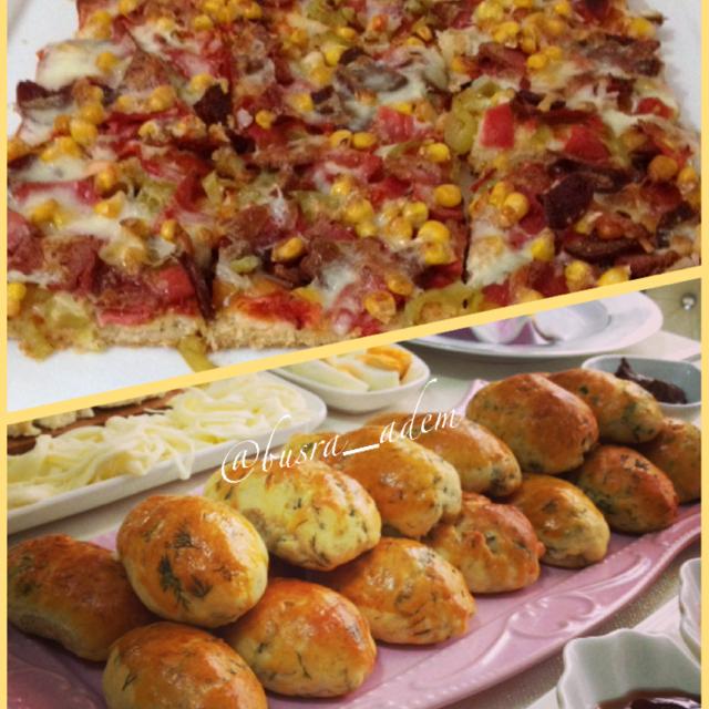 Ev Usulü Pizza Tarifi Tatlı Tuzlu Tarifler Pasta Börek Pohaça